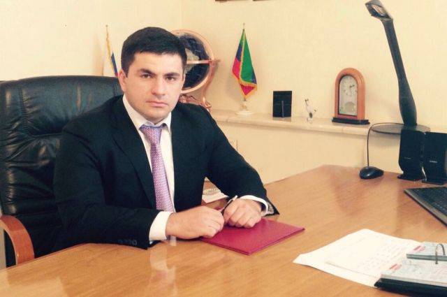 Генеральный директор ФК «Анжи» Саид Абдулаев