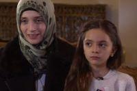 Бана Алабед с матерью