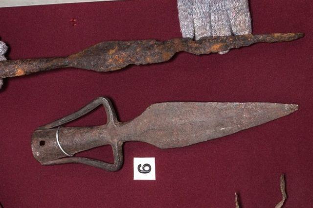 ВСмоленске отыскали наконечник старинного копья