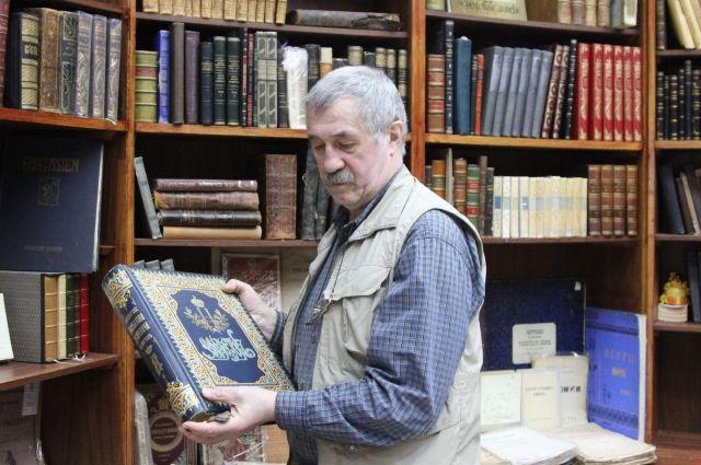 Гендиректор антикварного магазина «Антиквар на Мясницкой» Владимир Чуйко.
