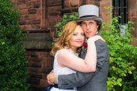Светлана и Билл в день свадьбы в Англии.