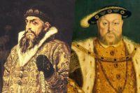 Иван IV и Генрих VIII.