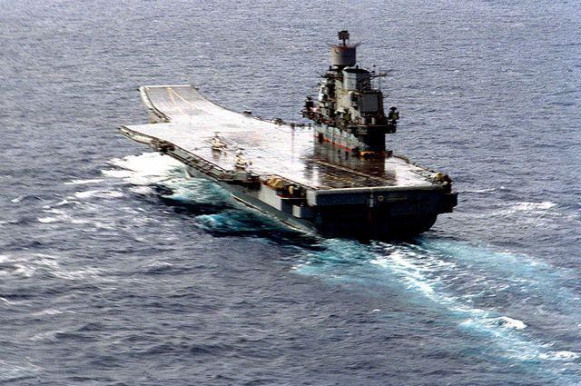 Британский министр назвал «кораблем позора» авианосец «Адмирал Кузнецов»