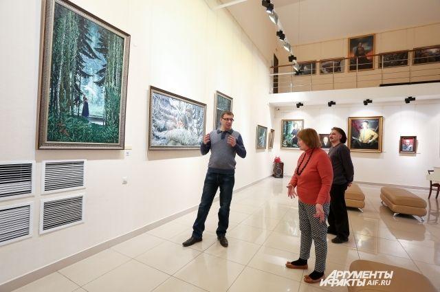 Вадим Иванкин мечтает объединить под одной крышей всех сибирских художников
