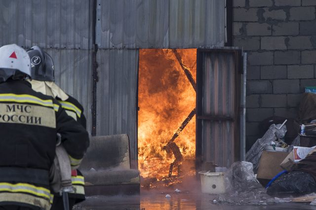 ВВолгоградской области впожаре всарае умер пенсионер