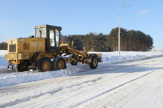За ночь в столице Кузбасса выпало 5 мм снега.