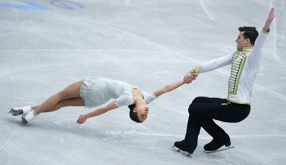 Наталья Забияко и Александр Энберт — на пятом.