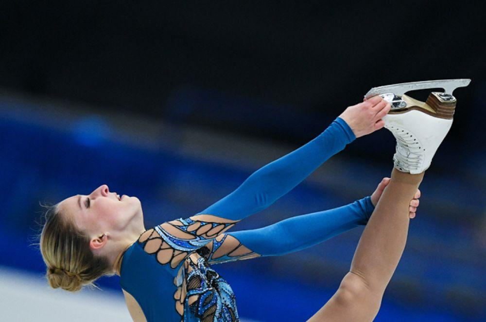 Мария Сотскова заняла четвёртое место.