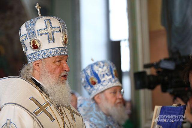 патриарх кирилл призвал депутатов гоняться популярностью