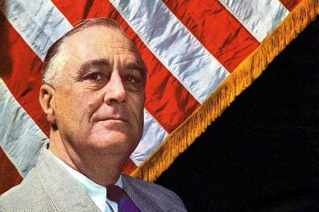 «Красный» в Белом. Как Франклин Рузвельт сделал Америку великой