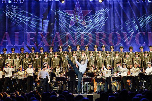 Концерт ансамбля имени Александрова воВладимире отменен