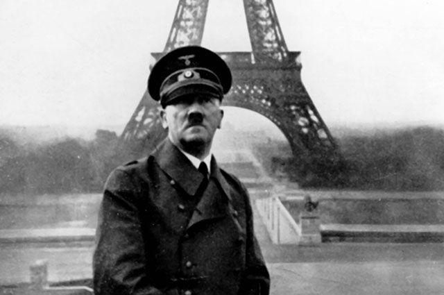 Адольф Гитлер в Париже, 1940 г.