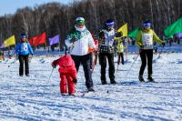 «Лыжня России» в Иркутском районе.