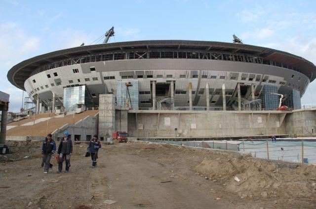 При строительстве «Крестовского» был нарушен закон на952 млн руб.