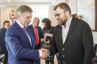 Иван Карнилин и Михаил Пореченков