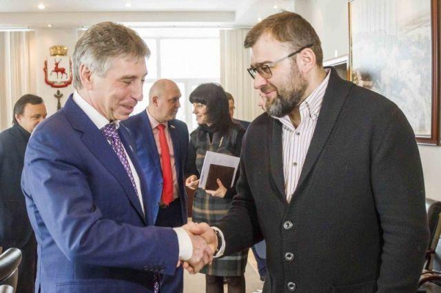 Пореченков предложил провести вНижнем Новгороде кинофестиваль