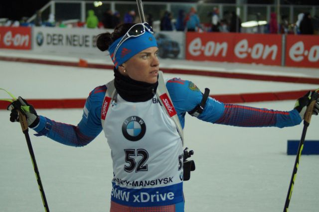 Две медали выиграли русские биатлонистки начемпионате Европы