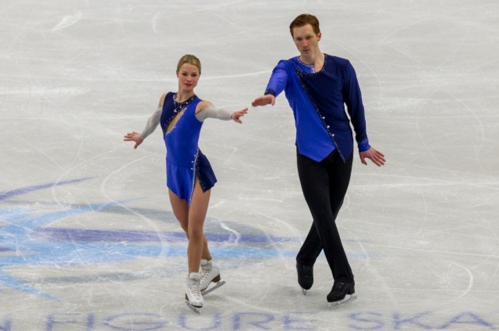 Евгения и Владимир тренируются в Москве под руководством известного тренера Нины Мозер.