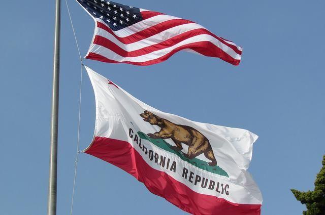 Калифорния может начать процедуру выхода изсоедененных штатов