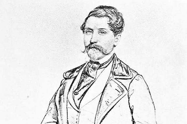 Жорж Шарль де Геккерн Дантес. 1844 г.