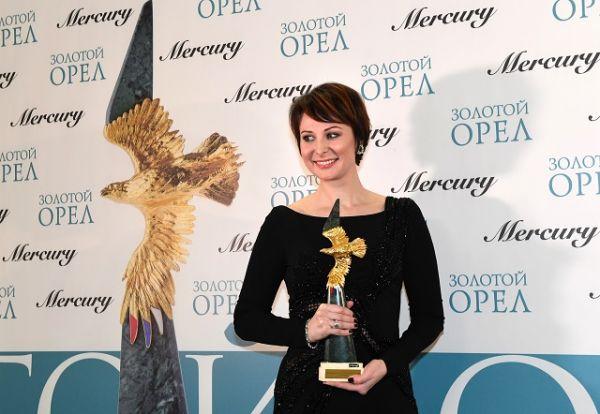 Награду за «Лучшую женскую роль на телевидении» получила актриса Ольга Погодина.
