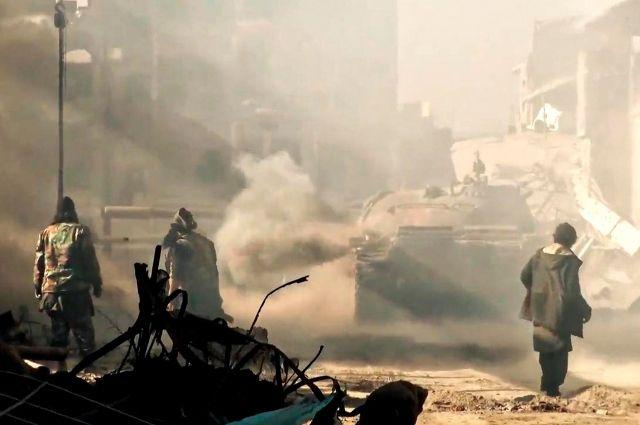ООН: десятки человек погибли при обстрелах вДейр эз-Зоре