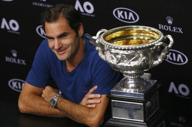 Федерер стал самым старым финалистом турниров Большого шлема за42 года