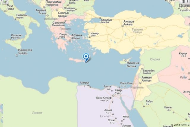 Большой десантный корабль «Александр Шабалин» вернулся изпохода вСредиземное море