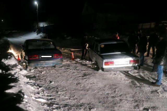 ВОрловской области шофёр «Волги» попал под собственный автомобиль