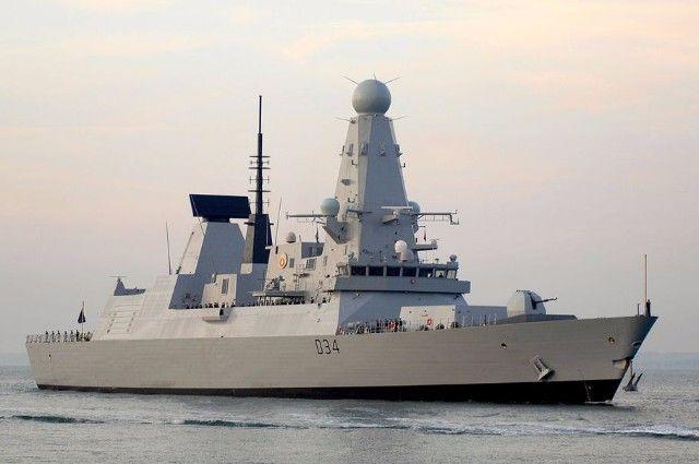 Зачем Великобритания направит эсминец HMS Diamond в акваторию Черного моря?