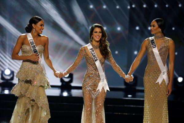 В тройку финалистов, помимо Миттенар, вошли представительницы Гаити и Колумбии 25-летняя Ракель Пелисье и 23-летняя Андреа Товар