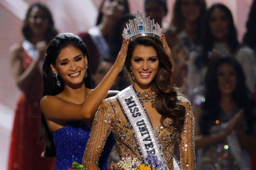 Ирис Миттенар — победительница конкурса красоты «Мисс Вселенная».