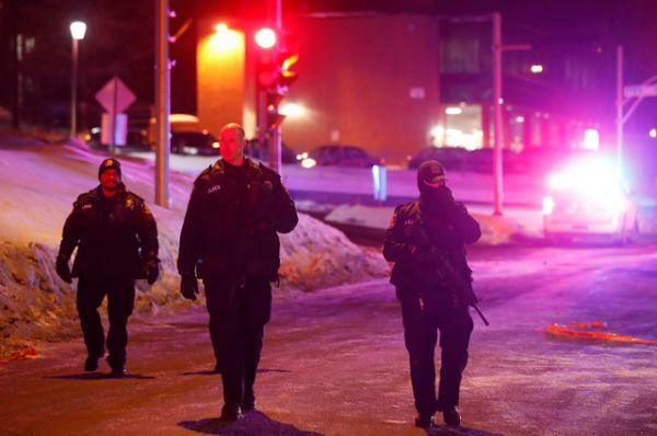 Стрельба в мечети в Канаде.