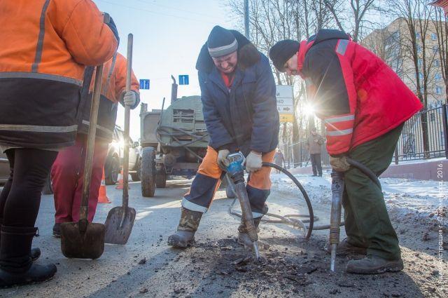 Вмэрии Смоленска озвучили список самых разбитых улиц города