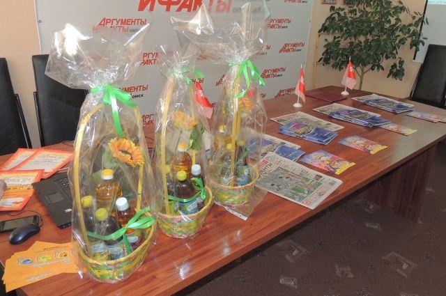 Омичи пообещали и дальше принимать участие в конкурсах от «АиФ-Омск».