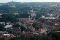 Вильнюс (Вильно), ставший литовским благодаря СССР в 1939 г.