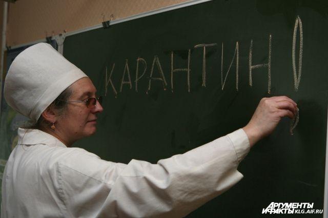 В школах и детсадах Калининградской области из-за ОРВИ объявили карантин.