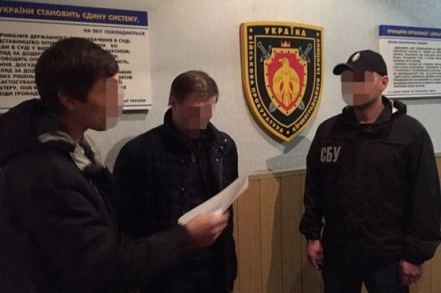 Задержание помощника прокурора в Кировоградской области