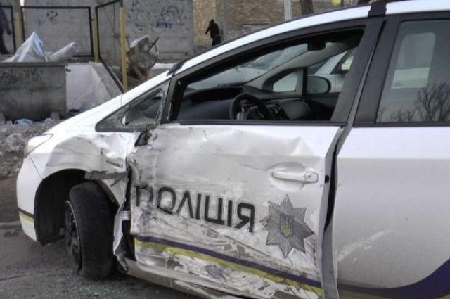 Двое патрульных пострадали вДТП вНиколаеве