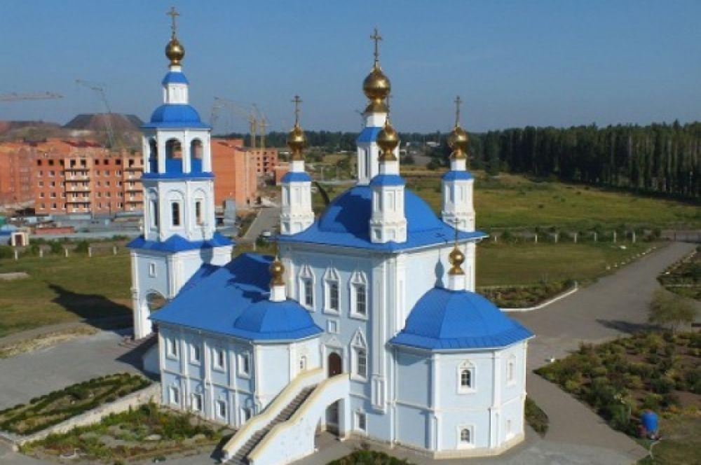 Приход храма Донской иконы Божией Матери.