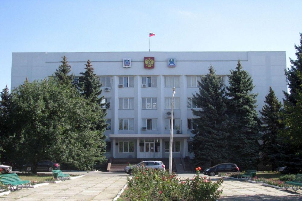 Здание администрации и городской думы Новошахтинска.