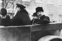 Лев Троцкий в 1918 году.