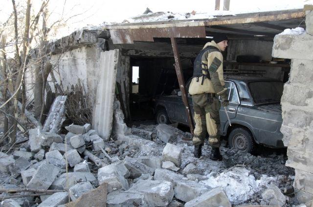 МИД Украины назвал РФ виновной вобострении ситуации вДонбассе