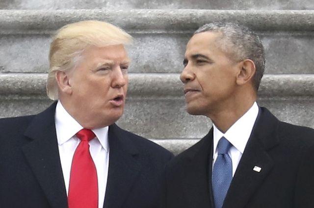 Обама присоединился кпротестам против указов Трампа