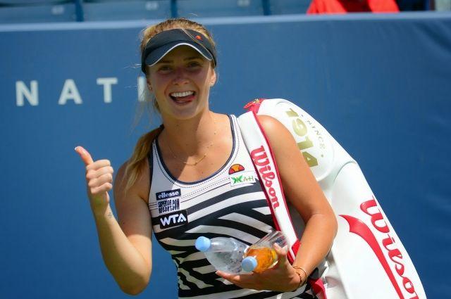 Элина Свитолина провела первый матч на Taiwan Open