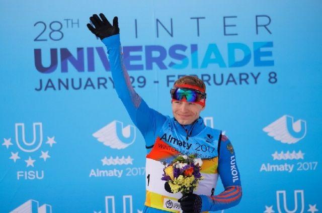 Свою первую награду Валерий Гонтарь выиграл в индивидуальной лыжной гонке классическим стилем на 10 километров.