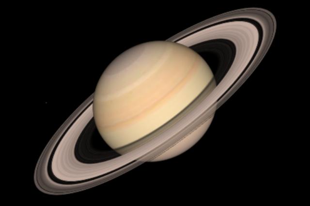 Все планетарные кольца состоят из ледяных обломков