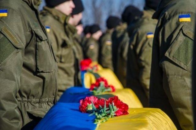Прощание бойцами АТО состоится 1 февраля