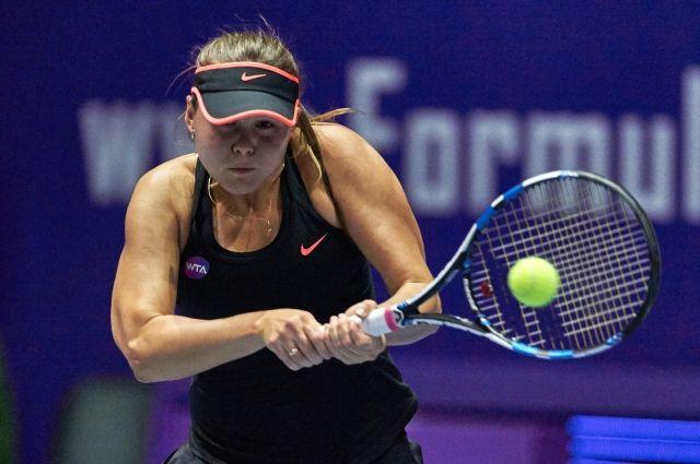 Лучшая теннисистка Украины растерзала россиянку настарте турнира вАзии