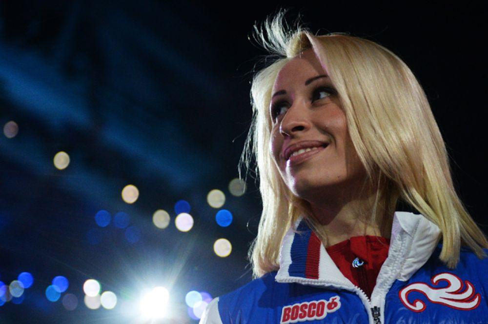 Михалина Лысова — четырёхкратная паралимпийская чемпионка в лыжных гонках и биатлоне, выступающая в классе спортсменов с нарушением зрения.